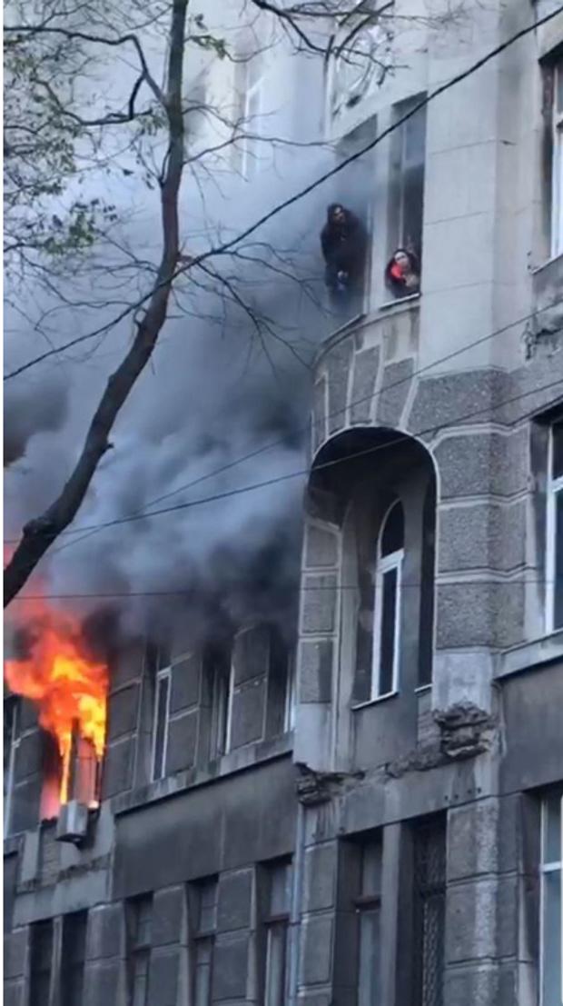 Пожежа, Одеса, коледж, Троїцька, жертви, студенти