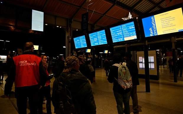залізниця страйк Фроанція