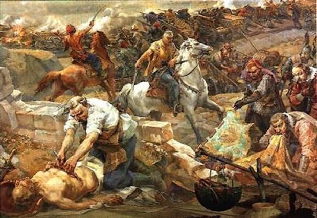 битва під жовтими водами, історія