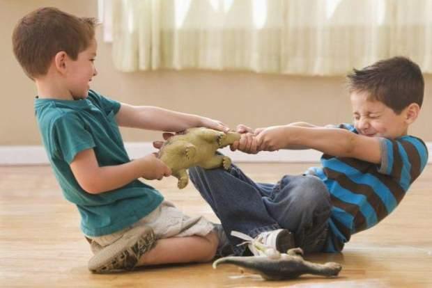Часто дитина відбирає іграшки, бо не вміє попросити