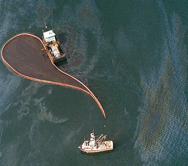 Катастрофа Блайт-Риф танкер витік нафти