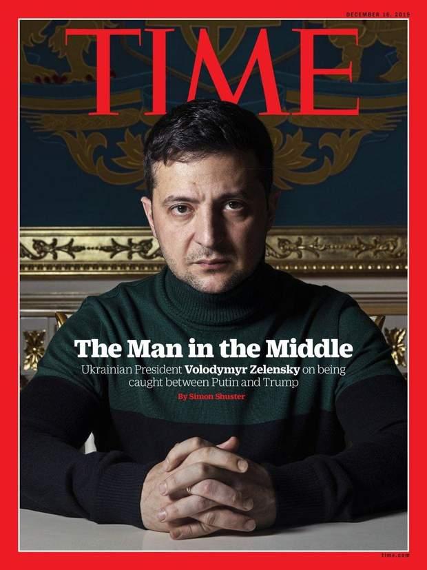 Зеленський, Time, обкладинка. журнал, США, ЗМІ