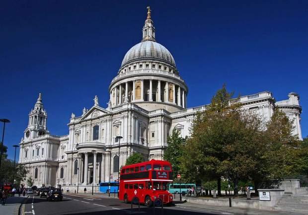 собор святого павла лондон
