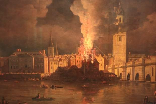 лондонська пожежа