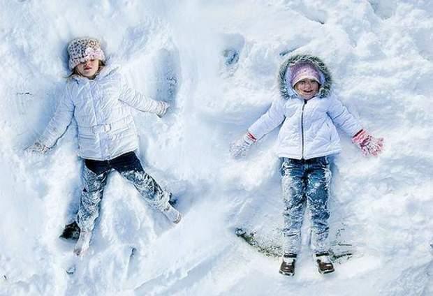 ангел на снігу