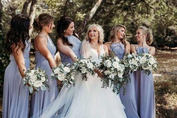 На весіллі були і справжні подружки нареченої