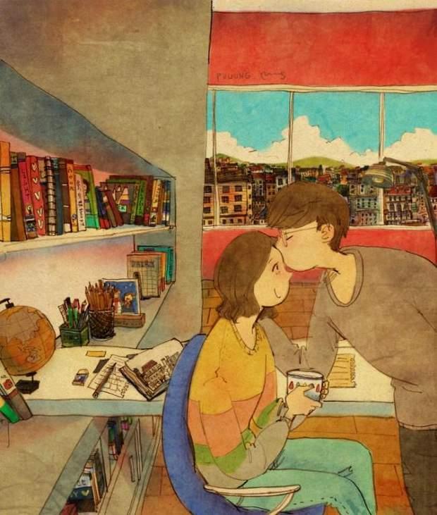 На людину позитивно впливає відчуття кохання в повсякденному житті