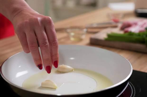 Рецепт приготування тальяти під горгондзолою