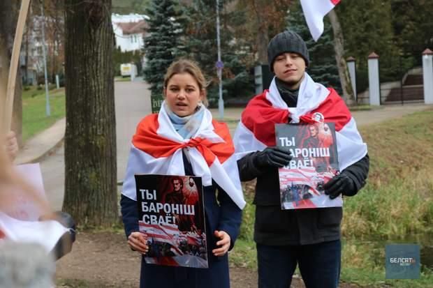 протести Білорусь Мінськ