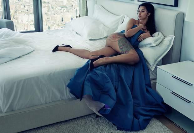 Cardi B для Vogue