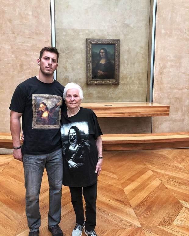 Бабуся та онук