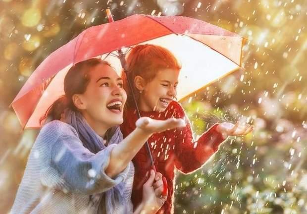 Щасливі батьки і діти