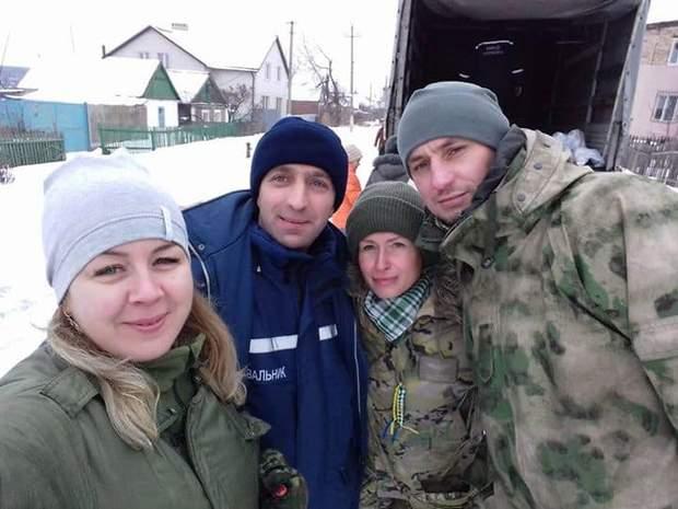 волонтер медик Юлія Кузьменко