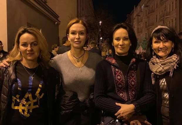 Маруся Звіробій та Юлія Кузьменко