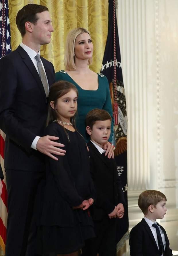 Іванка Трамп з чоловіком та дітьми