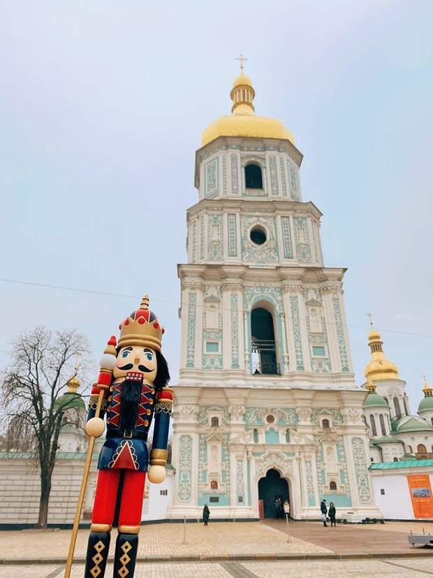 Різдвяна атмосфера в Києві
