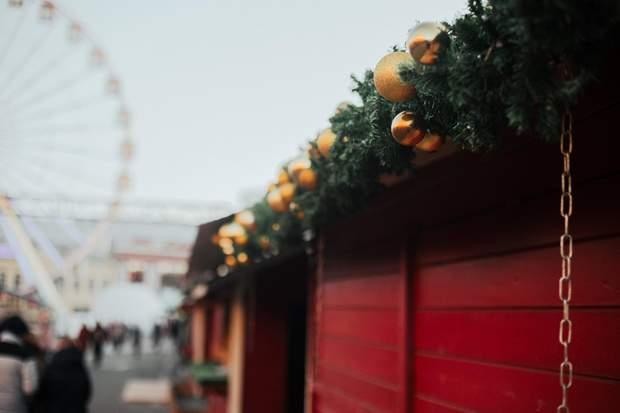 Новорічний ярмарок у Києві