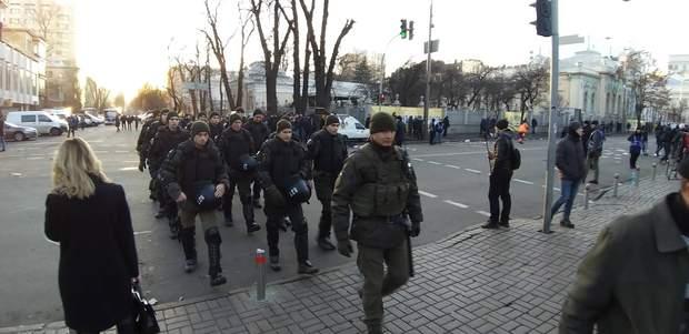 полиция киев митинг