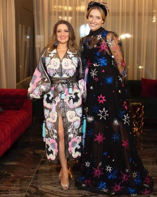 Катя Осадча у такій же сукні, як Катерина Кухар