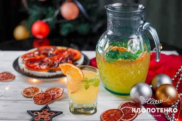 мандариновий лимонад