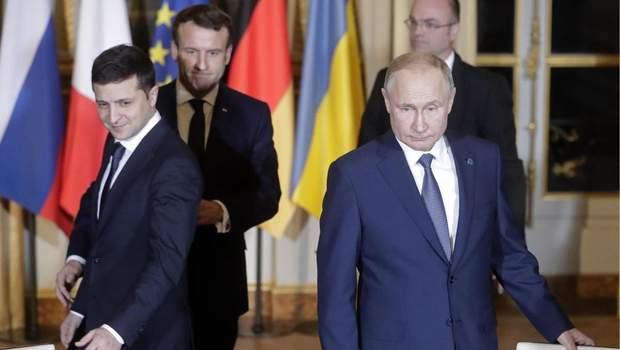 Путін та Зеленський