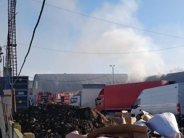 пожежа, Одеса, 7 кілометр