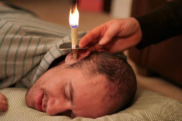 Користь та шкода вушних свічок