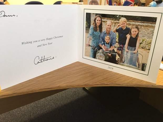 Різдвяна листівка принца Вільяма і Кейт Міддлтон