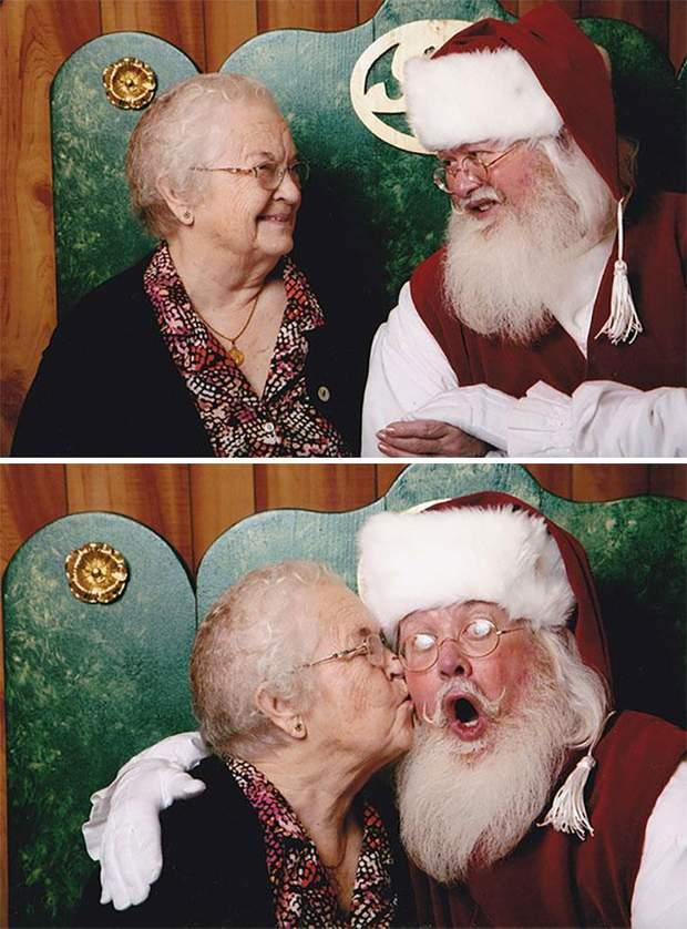 Бабуся і Санта