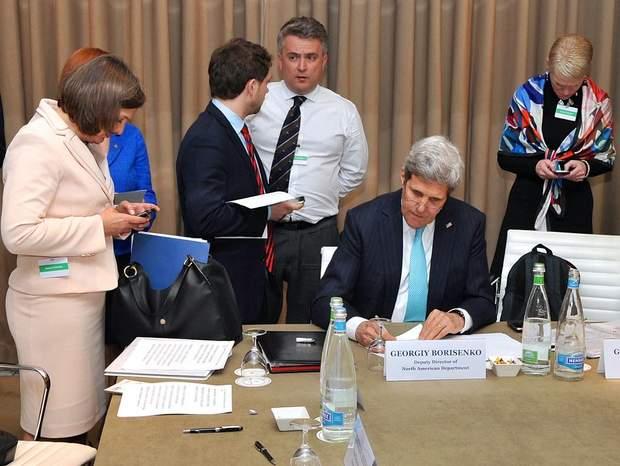 Сергій Кислиця женевська зустріч 2014 рік