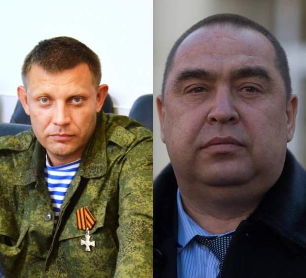 Олександр Захарченко Ігор Плотницький