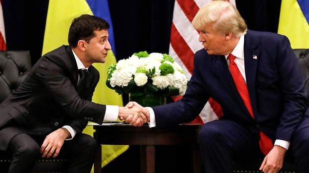 Трамп і Зеленський
