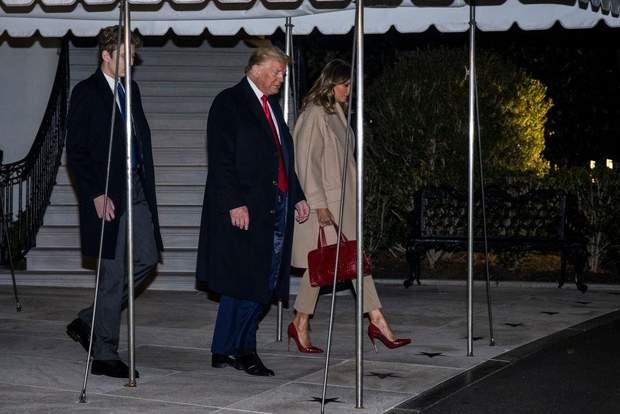 Дональд і Меланія Трамп у Вашингтоні