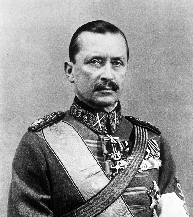 Барон Карл Густав Маннергейм