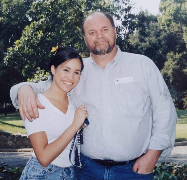Меган Маркл і батько