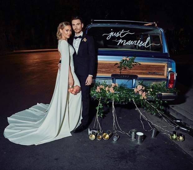 Гіларі Дафф і Меттью Кома зіграли весілля