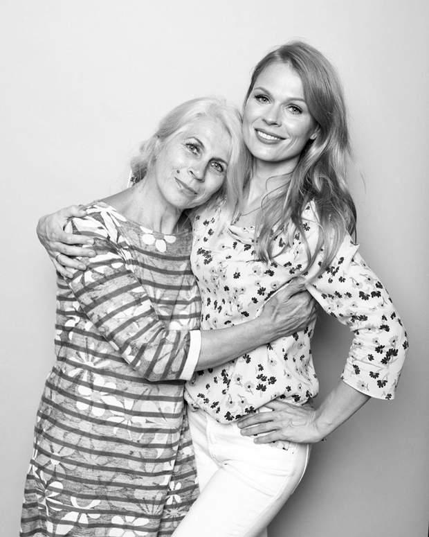Оля Фреймут і її мама Алла