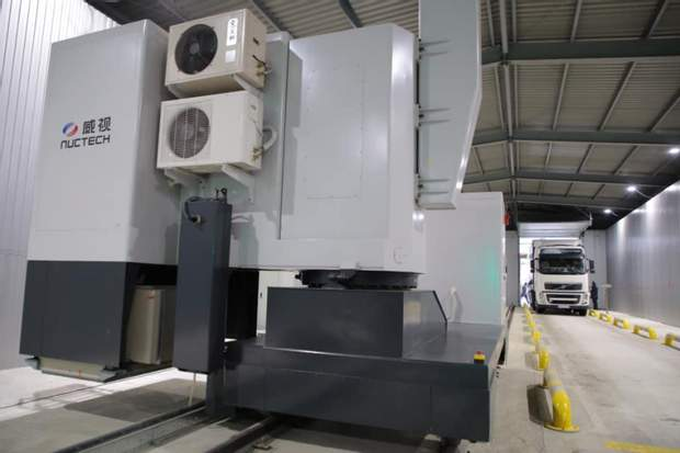 На границе с Польшей заработал новый сканер, который проверяет грузовики за 15 минут