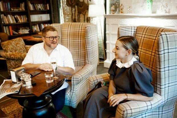 Дмитро Борисов з дружиною