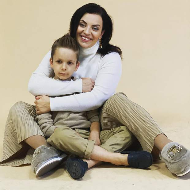 Наталія Холоденко з сином