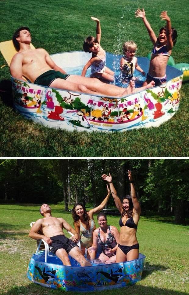 Фото в басейні