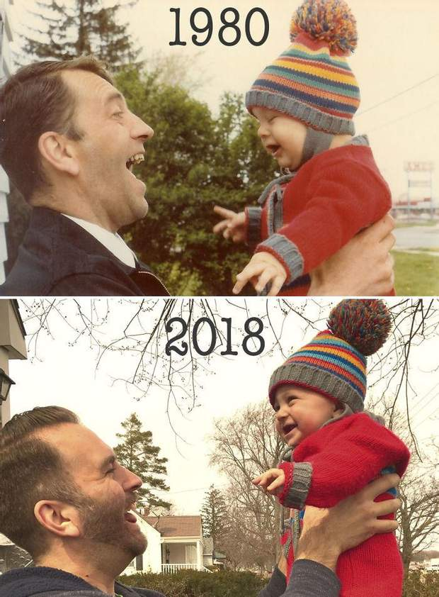 Фото з сином