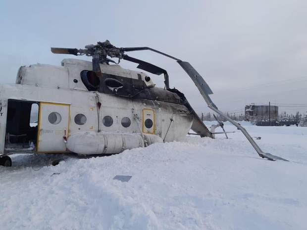 вертліт аварія