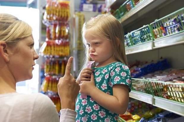Діти в супермаркеті