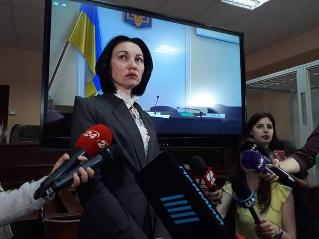 Олена Танасевич, голова антикорупційного суду