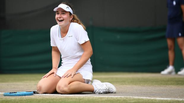 Дарія Снігур, перемога на Вімблдоні
