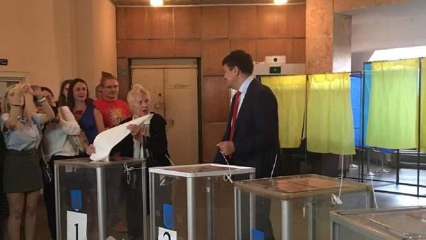 вибори до Ради, Дмитро Разумков