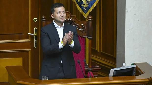 відкриття Верховної Ради, Зеленський в Раді