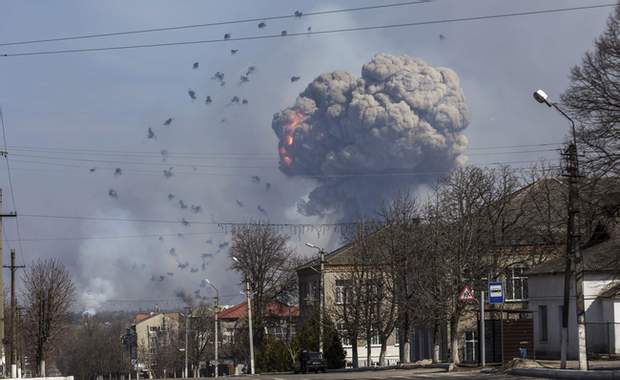 вибухи у Балаклії
