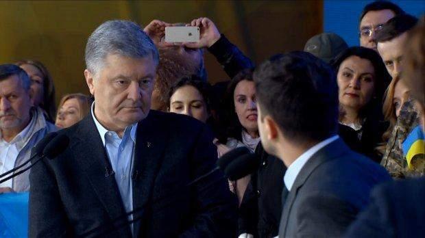дебати кандидатів, Петро Порошенко, Володимир Зеленський